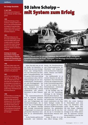 50 Jahre Scholpp - mit System zum Erfolg - KM-Verlags