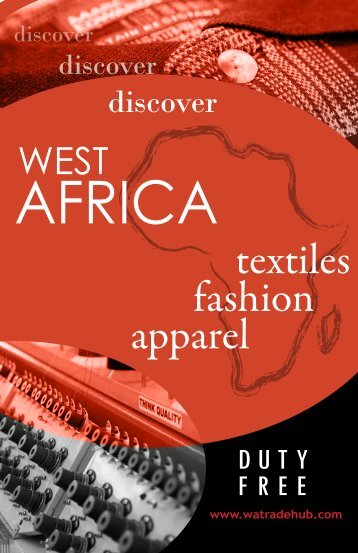 Catalog of West African apparel and fashion exporters