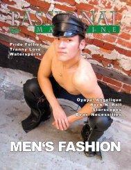 men's fashion - Passional Magazine