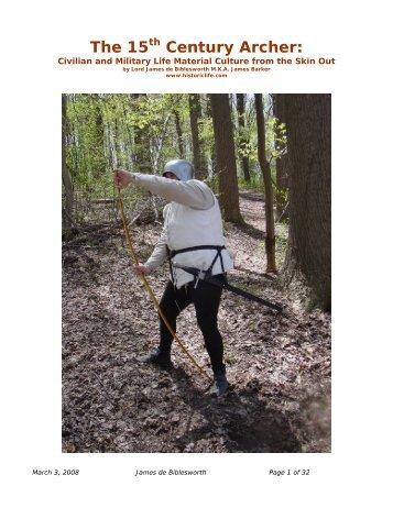15th Century Men's Clothing: - Historic Life