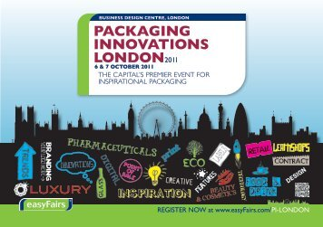 packaging innovations london2011 - Mailway Packaging Solutions
