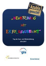 GLS-Broschüre 2017
