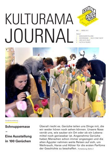 Kulturama Journal Nr. 1 / März 2017