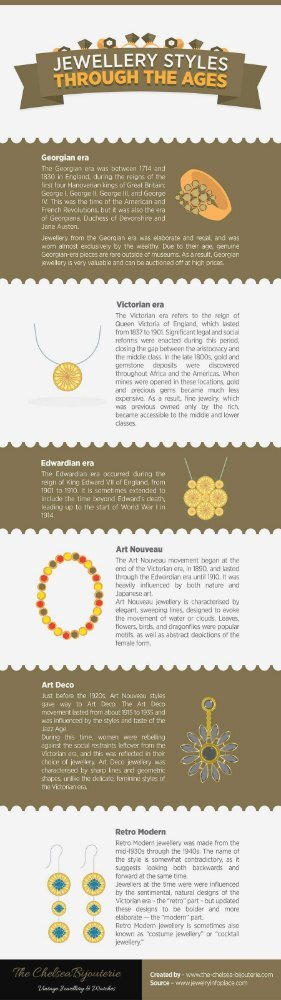 Jewellery Styles Through the Ages