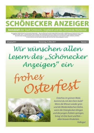 Schönecker Anzeiger März 2017