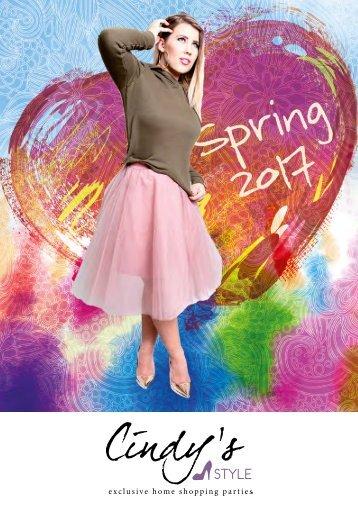 CindysStyle Spring Katalog 2017