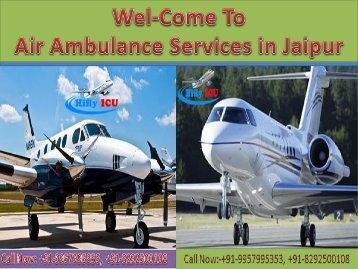 Hifly ICU Air Ambulance in Jaipur & Bokaro