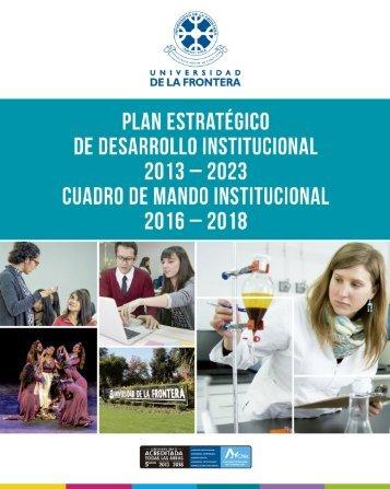 plan estrategico desarrollo institucional