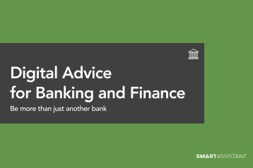 Digital Advice for Banking and Finance