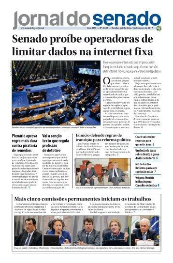 Senado proíbe operadoras de limitar dados na internet fixa