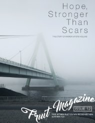 Hope Stronger Than Scars --- The Marion Wallace Story