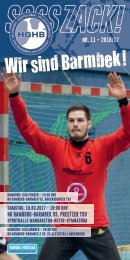 SSSSZACK! HGHB vs. Preetzer TSV