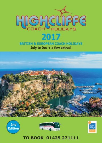 HOLIDAY BROCHURE 2017 - 2nd edition - whole edition - last ever version