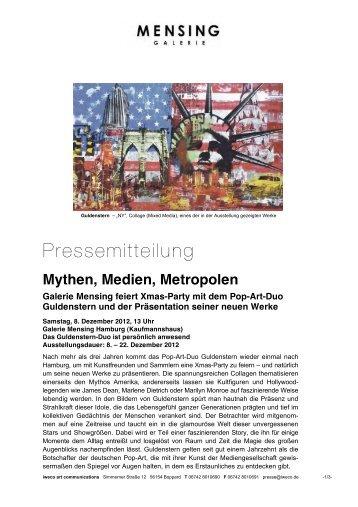 Galerie Mensing Hamm mythen medien metropolen galerie mensing