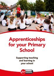 Apprenticeships for your Primary School