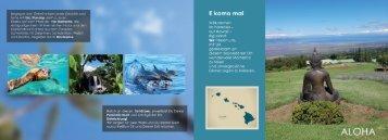Aloha Hawaii Reise mit Fortuna Academy
