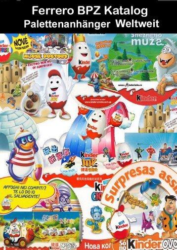 Ferrero BPZ Katalog Palettenanhänger Weltweit