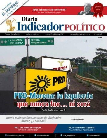 PRD-Morena la izquierda que nunca fue… ni será