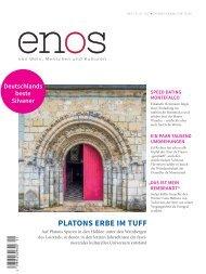 enos - von Wein, Menschen und Kulturen, Nr. 1 / 3. Jg - 2017