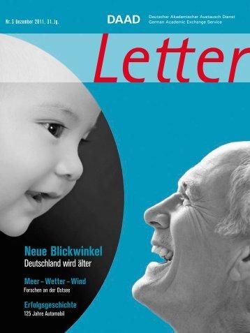 Neue Blickwinkel - DAAD-magazin