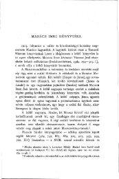 Madách Imre könyvtára - EPA