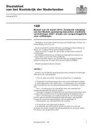 149 Staatsblad van het Koninkrijk der Nederlanden