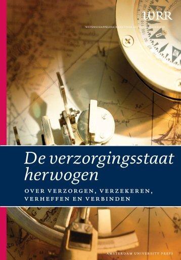 De verzorgingsstaat herwogen - Wetenschappelijke Raad voor het ...