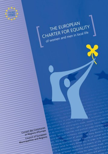[ THE EUROPEAN CHARTER FOR EQUALITY - Council of ...