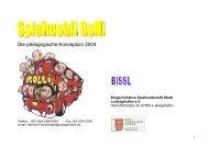 Die pädagogische Konzeption 2004