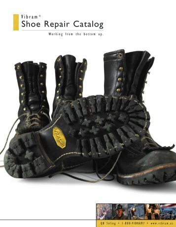 Vibram Shoe Repair Catalog