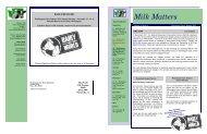 08 2102 Milk Matters 6 Vol. 16 Issue - Washington State Dairy ...