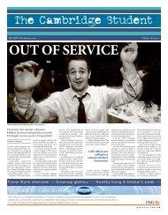 Michaelmas Issue 2 2007 - The Cambridge Student - University of ...