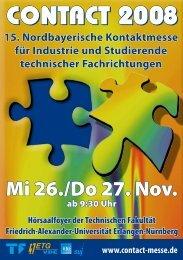 Broschüre (pdf, 14 MB) - Contact - suj-Erlangen
