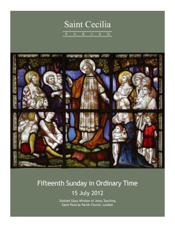 bulletin07152012.pdf - 15th Sunday in Ordinary Time