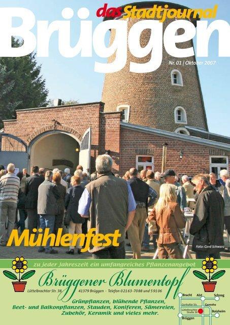 Mühlenfest - Stadtjournal Brüggen