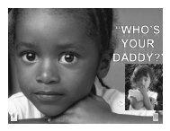 Paternity Establishment Program - Virginia Head Start Association