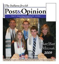 bar\Bat Mitzvah - Jewish Post & Opinion