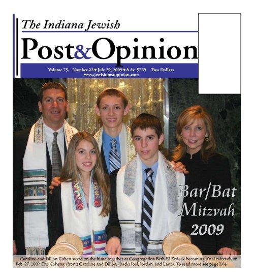 bar\Bat Mitzvah - Jewish Post & Opinion