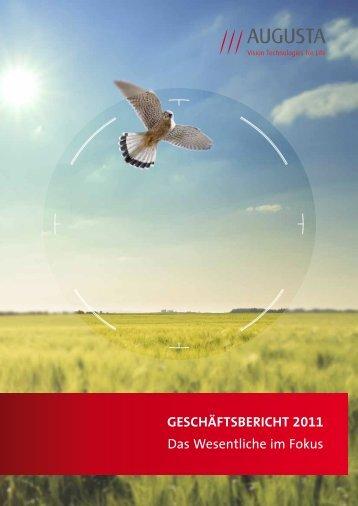 Konzern-Kapitalflussrechnung für das Geschäftsjahr 2011 - PresseBox