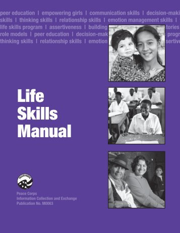 Life Skills Manual - Site Temporarily Unavailable - Peace Corps