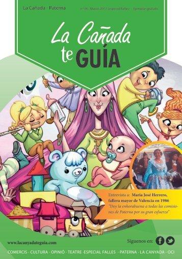 Revista Online La Canyada Te Guía 006 Especial Fallas 2017
