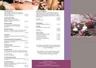 Wellvita Flyer 6 Seiten - TerraVentura Hotel Resort Spa