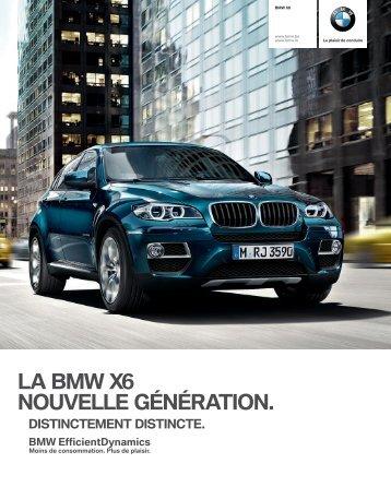 LA BMW X NOUVELLE GÉNÉRATION.