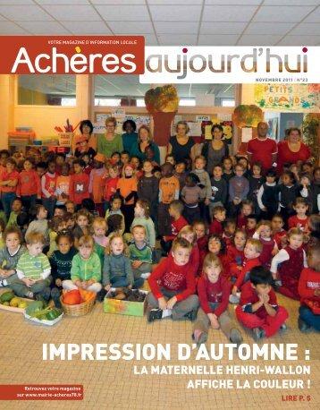 HistoiRe - Achères