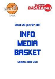 Mardi 25 janvier 2011 Saison 2010-2011 - 1-2-3-4-5-6