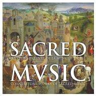 sacred mvsic - Harmonia Mundi