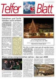 Telfer Blatt - Marktgemeinde Telfs