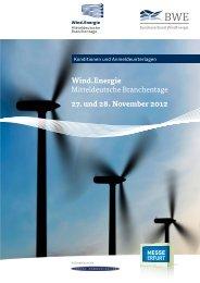 Anmeldung Tagung - Wind.Energie
