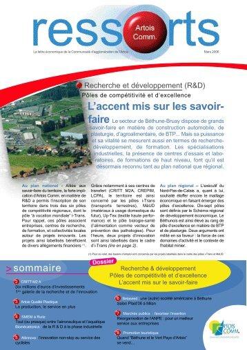 Actu Altinnova à Auchy-les-Mines L - Communauté d'Agglomération ...