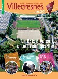 Le Bois d'Auteuil, un nouveau quartier - Ville de Villecresnes